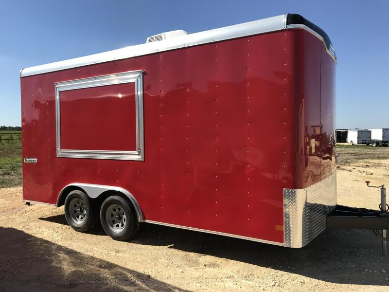 2018 Haulmark TST85x16WT2 Vending / Concession Trailer