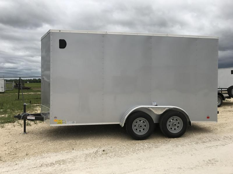 2018 Cargo Mate TXLEEH714TA2 Enclosed Cargo Trailer