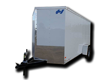 2017 Haulmark TH6X10DS2 RAMP DOOR SILVER