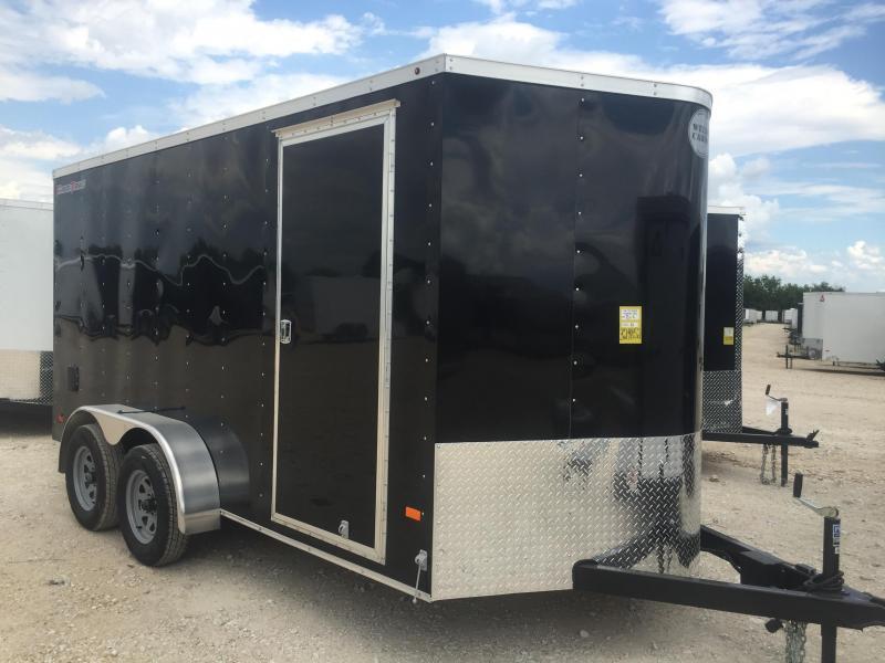 2017 Wells Cargo 7x16+ 2 Enclosed trailer Fast Track Cargo / Enclosed Trailer