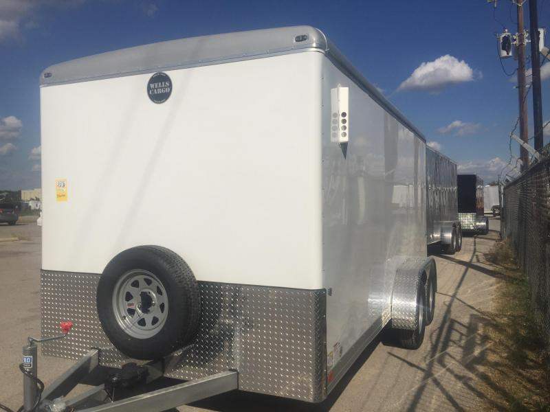 2017 Wells Cargo Lanscape trailer 7x16 heavy duty  Enclosed trailer* Cargo / Enclosed Trailer