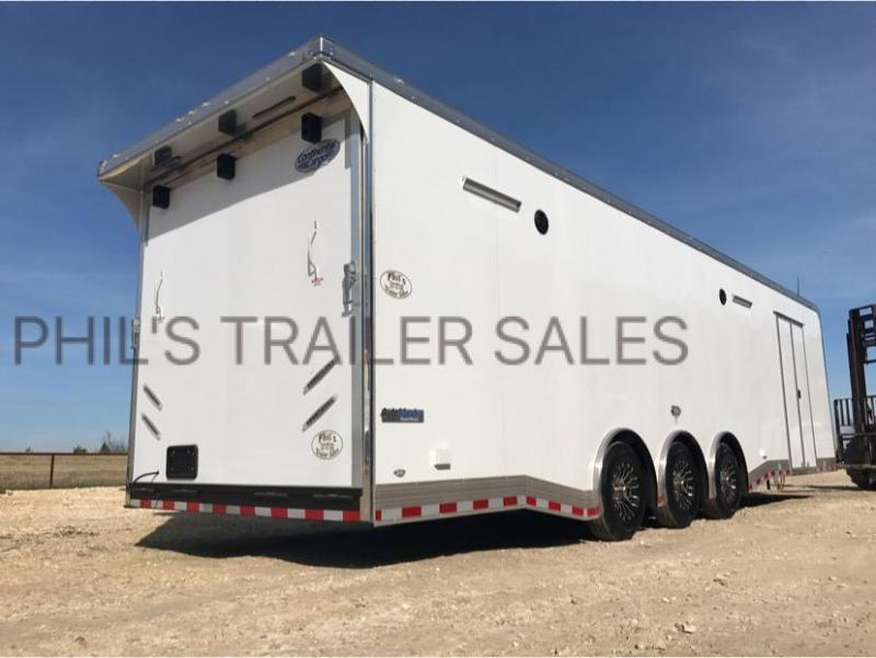 34u0027 BATHROOM / SHOWER TRAILER AUTO MASTER Car / Racing Trailer Enclosed  Trailer