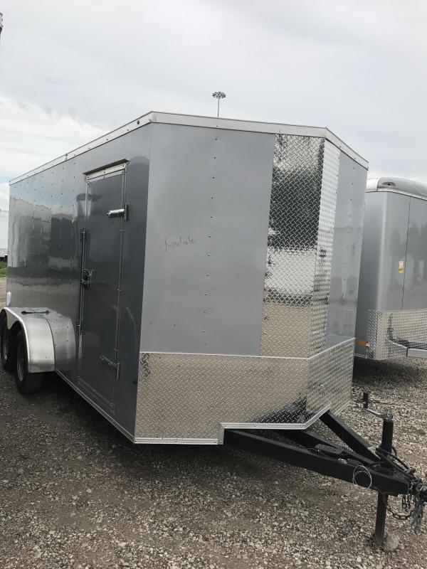 2018 Texas Select Enclosed trailer 7x162 v nose 66