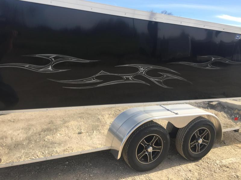 2017 Wells Cargo 7X12 ROAD FORCE Motorcycle Trailer