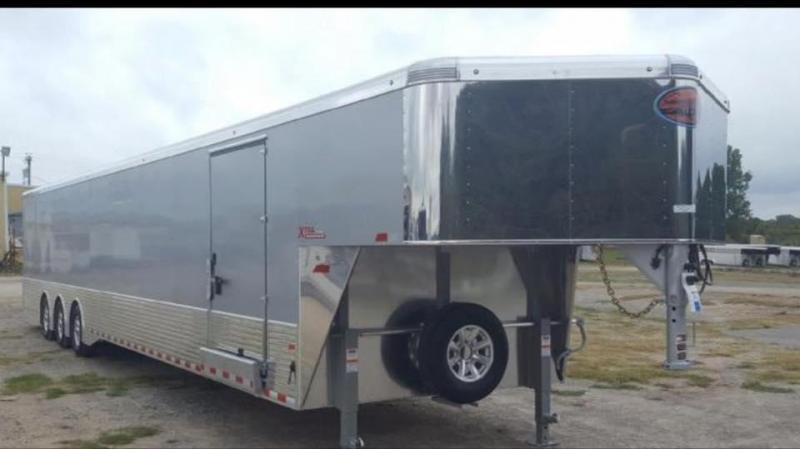 2018 48 all Aluminum Trailers Transporter Xtra Car / Racing Trailer