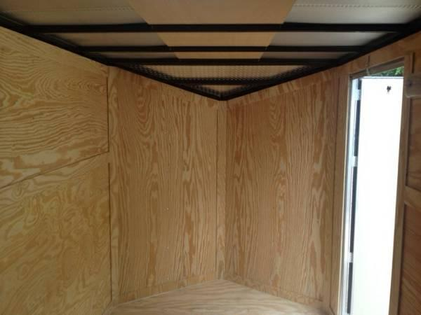 enclosed trailer 7x12ta enclosed Trailers* Slant Nose Motorcycle Trailer