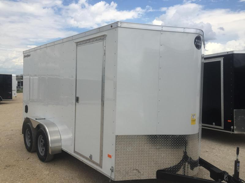 2017 Wells Cargo 7x16+ 2 Enclosed trailer Fast Track Cargo / Enclosed Trailer
