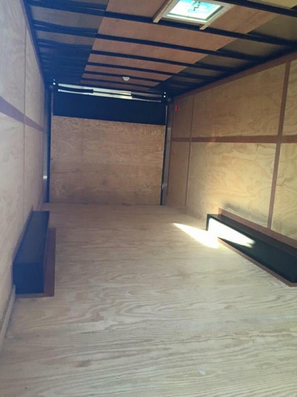 28  Continental Cargo BLACK OUT Car / Racing Enclosed Trailer*