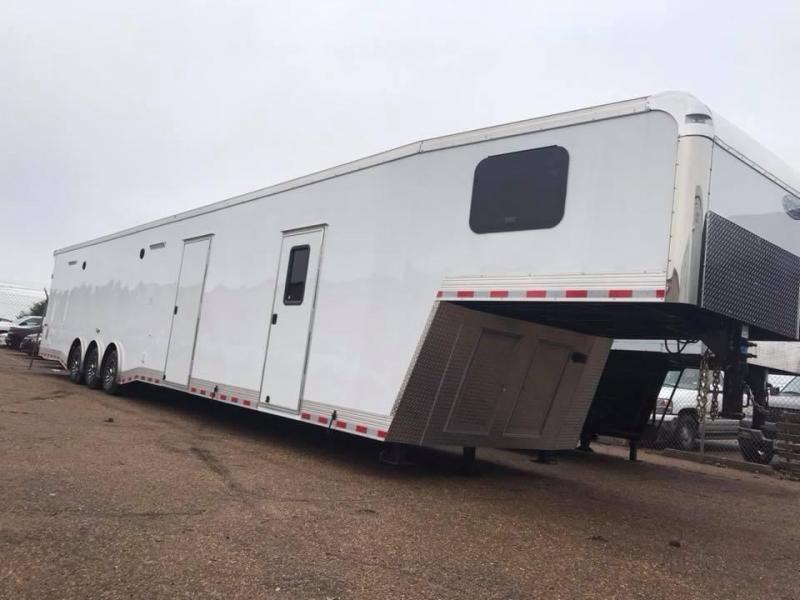 2018 50 Continental Cargo Living Quarters Car / Racing Trailer