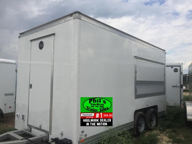 2015 Wells Cargo 8.5x16 concession trailer Vending / Concession Trailer