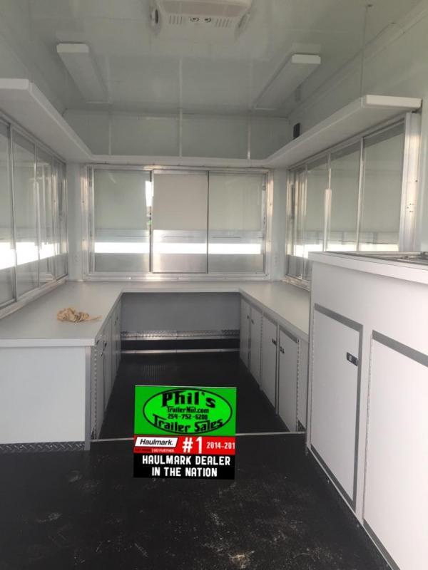 2015 Wells Cargo 8.5x16 concession trailer Vending / Concession Trailer
