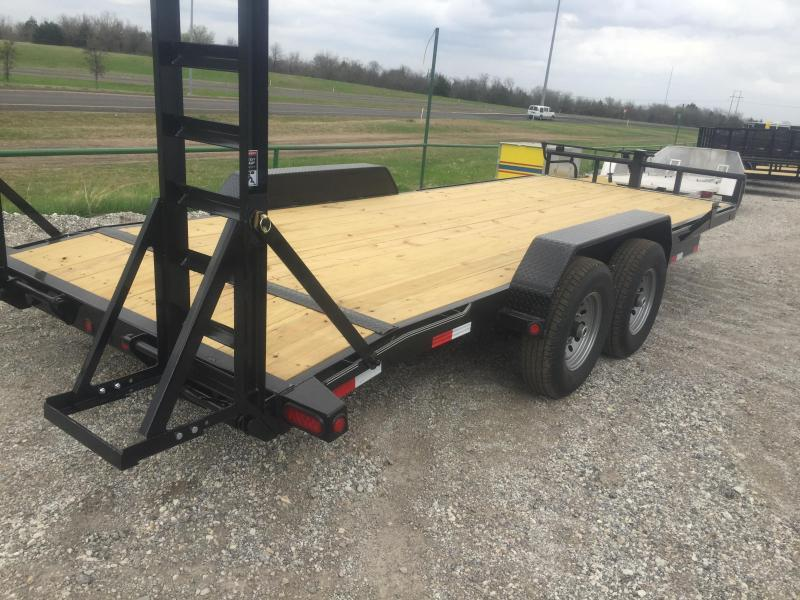 2018 Lamar Trailers 83x20 fold up ramps  Equipment trailer Equipment Trailer