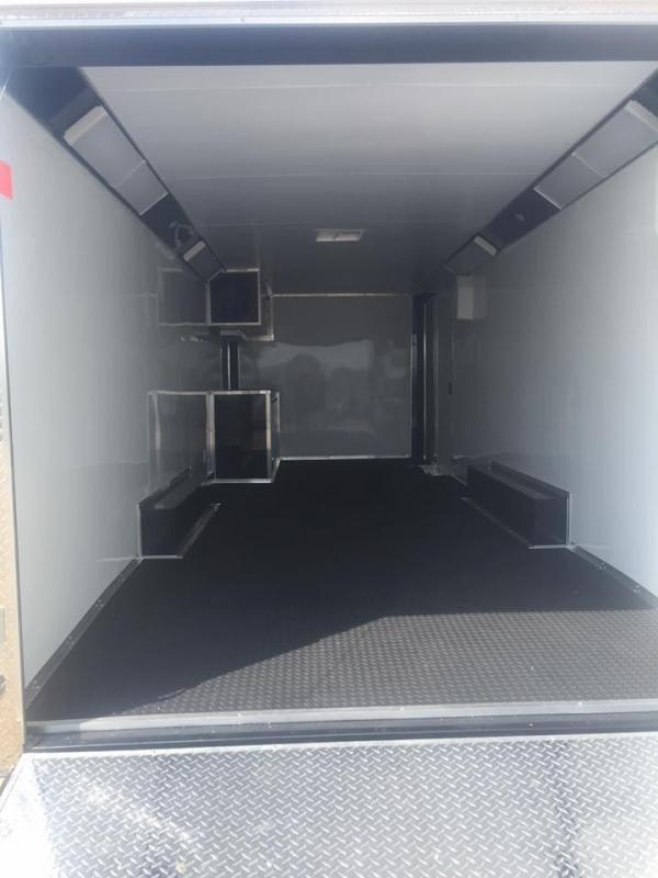 2017 Continental Cargo 28 ENCLOSED RACE TRAILER Enclosed Cargo Trailer