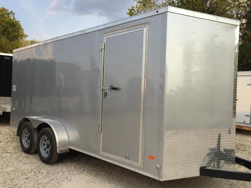 7x16 Haulmark Loaded Cargo / Enclosed Trailer