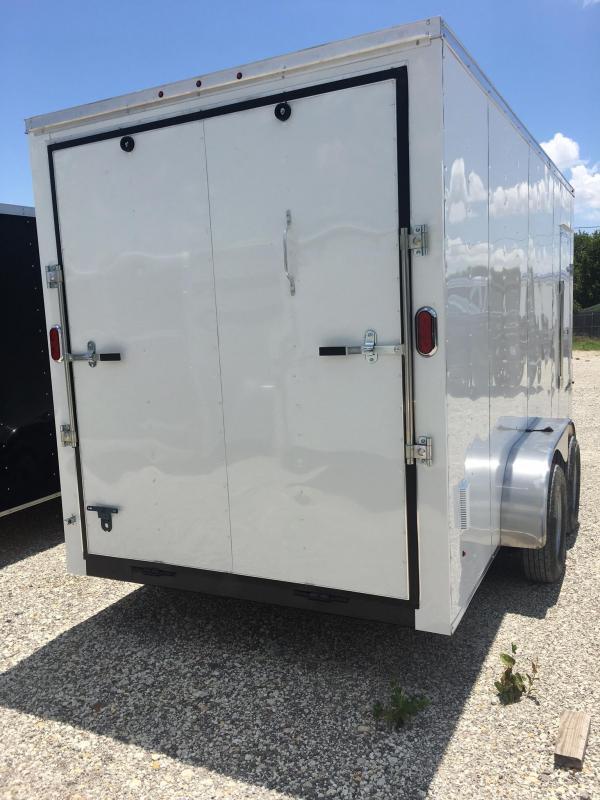 "2018 Texas Select 7x16 + 2 v 6'6"" Enclosed trailer Cargo / Enclosed Trailer"