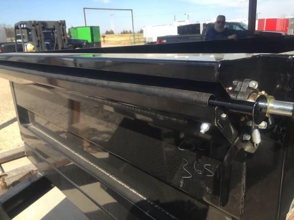 2017 Norstar 83x14 dump trailer