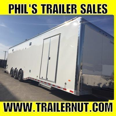 34' Haulmark EDGE DRAGSTER LIFT  Car / Racing Trailer LOADED