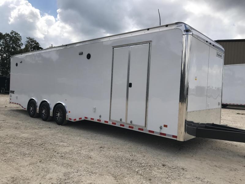 2018 32 ft triple  Haulmark Heat Car / Racing Trailer