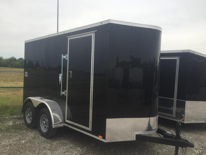"Enclosed trailer* 6x12 tandem 6'6"" Continental Cargo Enclosed trailer cargo Cargo / Enclosed Trailer"