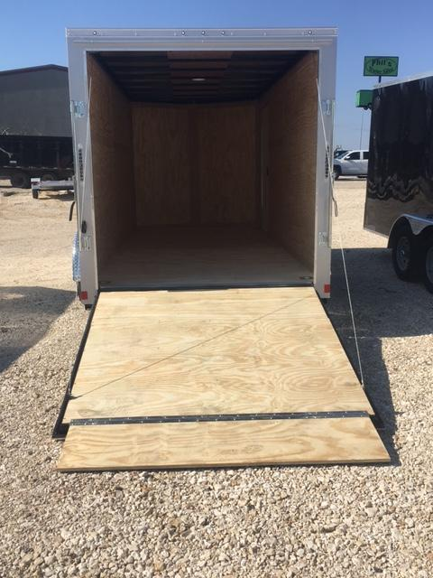 "CONTINENTAL CARGO 7X16 DELUXE PACKAGE 6'6"" INTERIOR* RAMP"