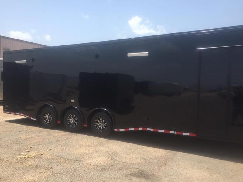 40' gooseneck Continental Cargo Auto Master Car / Racing Trailer