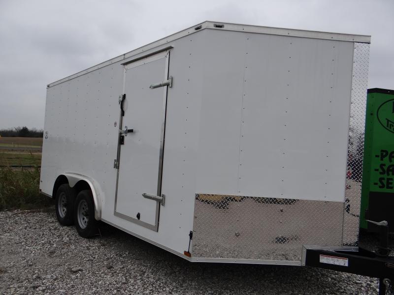 2017 8x24 5200 lb axles Lark Enclosed trailer Cargo / Enclosed Trailer