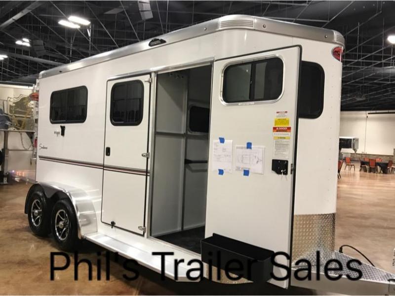 2018 2 Horse Sundowner Trailers Charter TR SE Horse Trailer