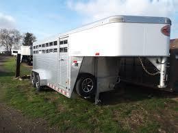 2018 Sundowner Trailers 20 Rancher Express gooseneck Stock / Stock Combo Trailer