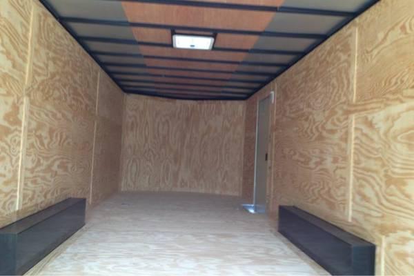 Continental Cargo Enclosed trailer*  7 ft inteior  8 5x24 with 5200lb axles car hauler