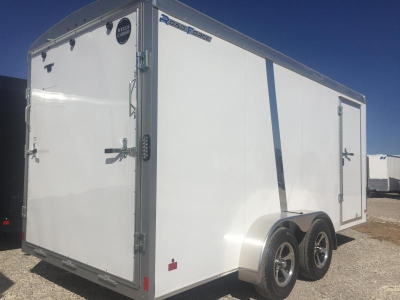 2017 Wells Cargo 7x16 screw less  Road force Enclosed Cargo Trailer