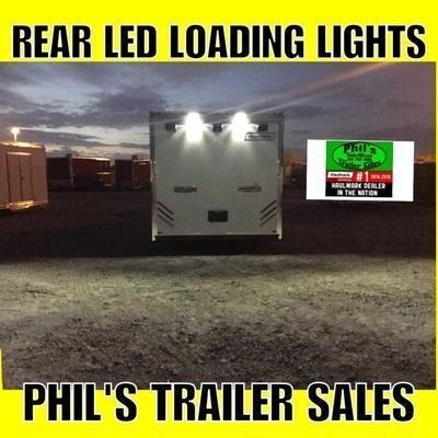 30'  Cabinets down side wall X TRA HT  Haulmark edge Car / Trailer