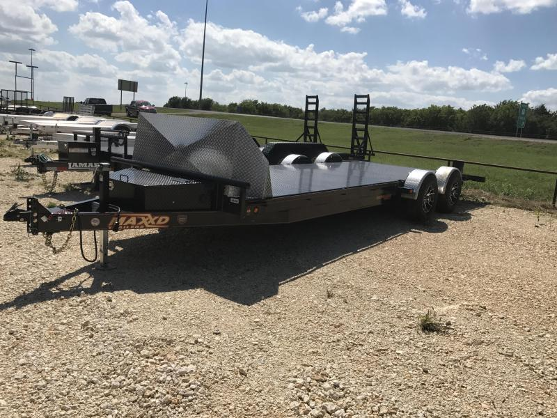 2017 Maxey 24 Maxed Air Ride Equipment Trailer