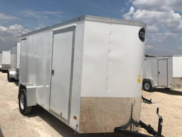 2018  WELLS CARGO 6X12 SA Enclosed Cargo Trailer