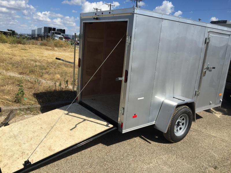 5X8 Haulmark LOADED Enclosed Cargo Trailer