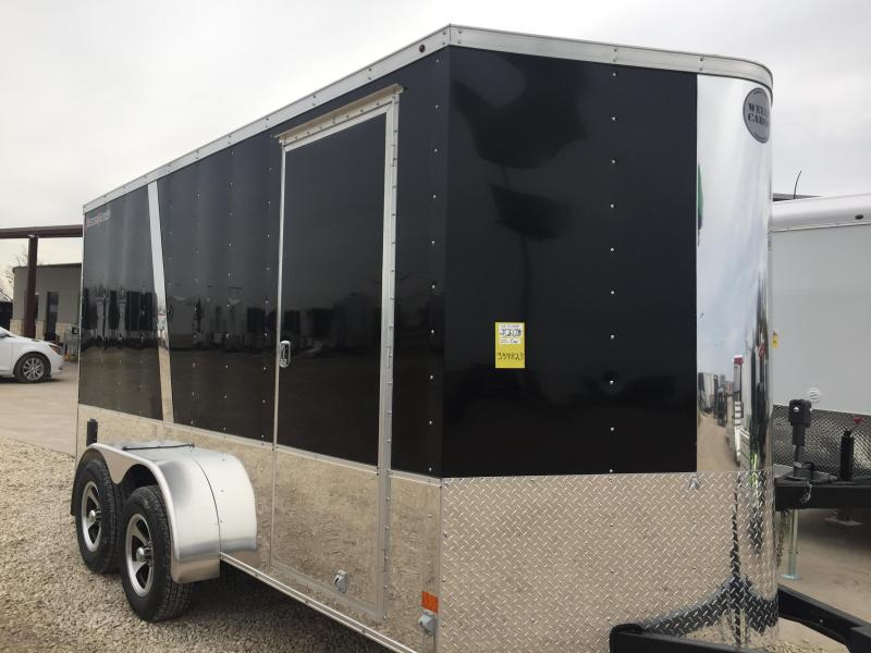 2017 Wells Cargo 7x14 finished out Enclosed trailer Cargo Enclosed Trailer*