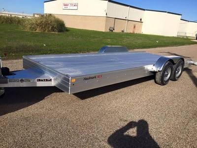 18'  Haulmark all aluminum  CAR HAULER Car