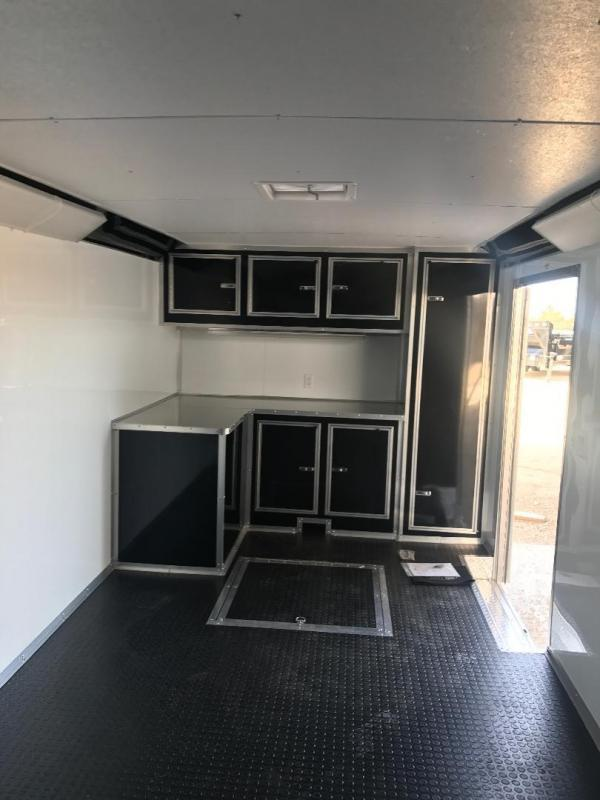 2018 32' TANDEM SPREAD  Continental Cargo AutoMaster RACE  Car / Racing Trailer