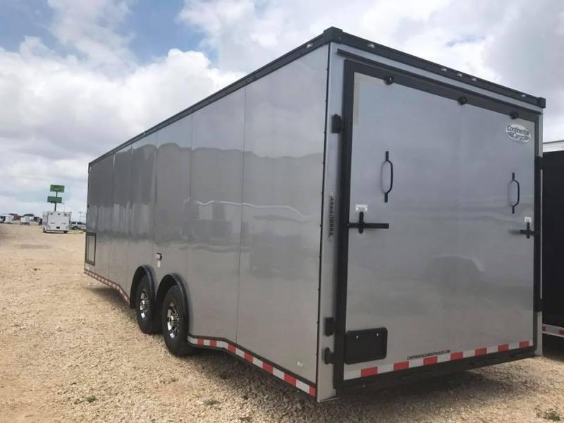 28 Continental Cargo Black out Car / Racing Trailer