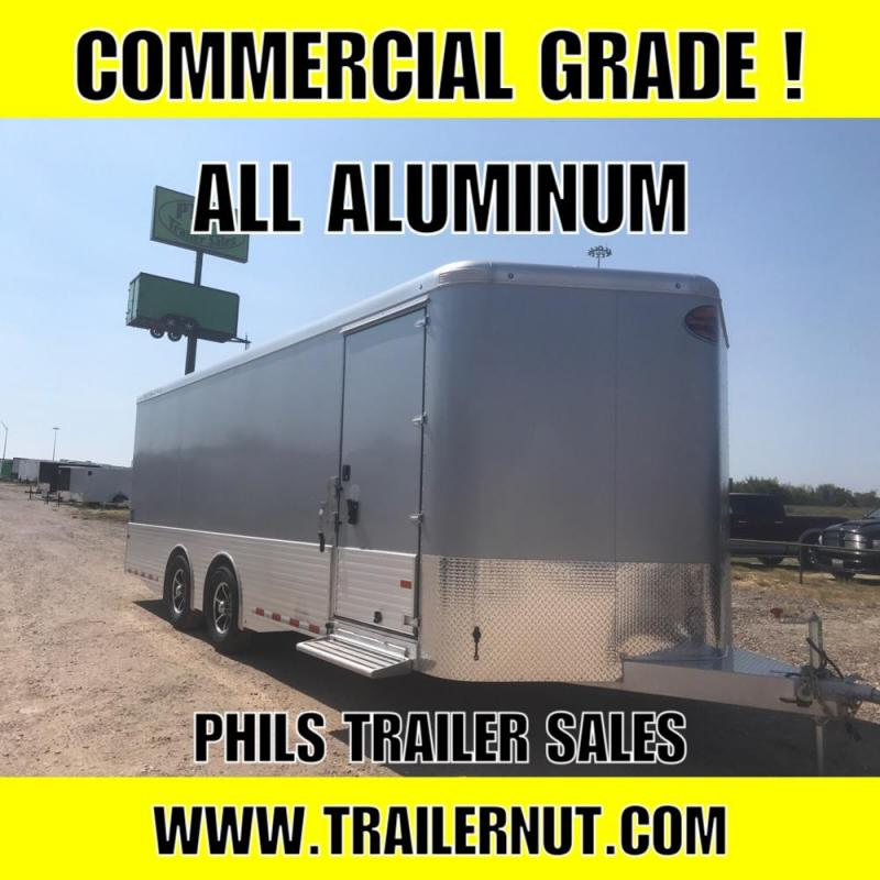 2018 Sundowner Trailers 8.5x24 ALL ALUMINUM COMMERICAL GRADE TRAILER Cargo / Enclosed Trailer