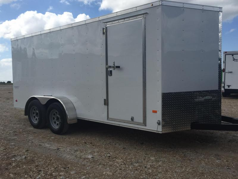 7X14 Extra Height Haulmark LOADED Enclosed Cargo Trailer