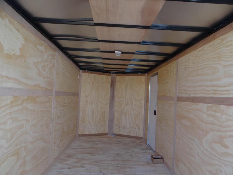 7x16 Continental Cargo 7 interior RAMP Cargo / Enclosed Trailer