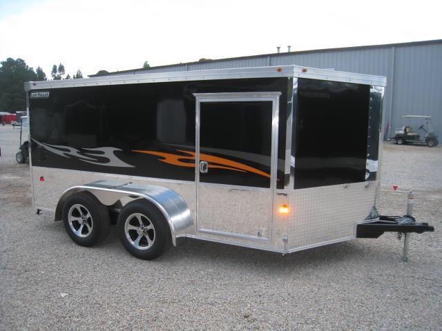 Haulmark 7X14 Motorcycle Trailer Low Hauler enclosed trailer