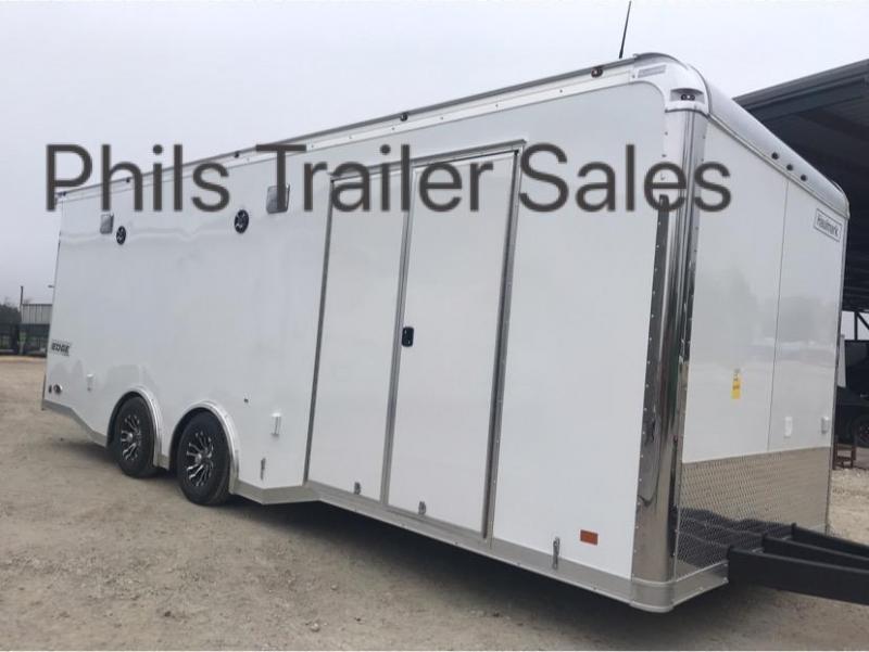 24 Haulmark Edge Car Racing Trailer Loaded Enclosed