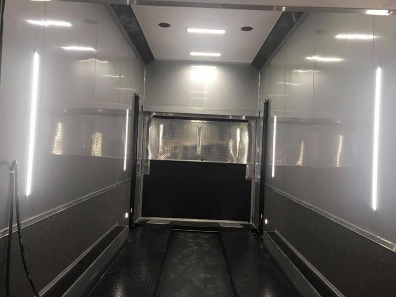 2018 Cargo Mate 32 STACKER  ALL ALUMINUM Car / Racing Trailer