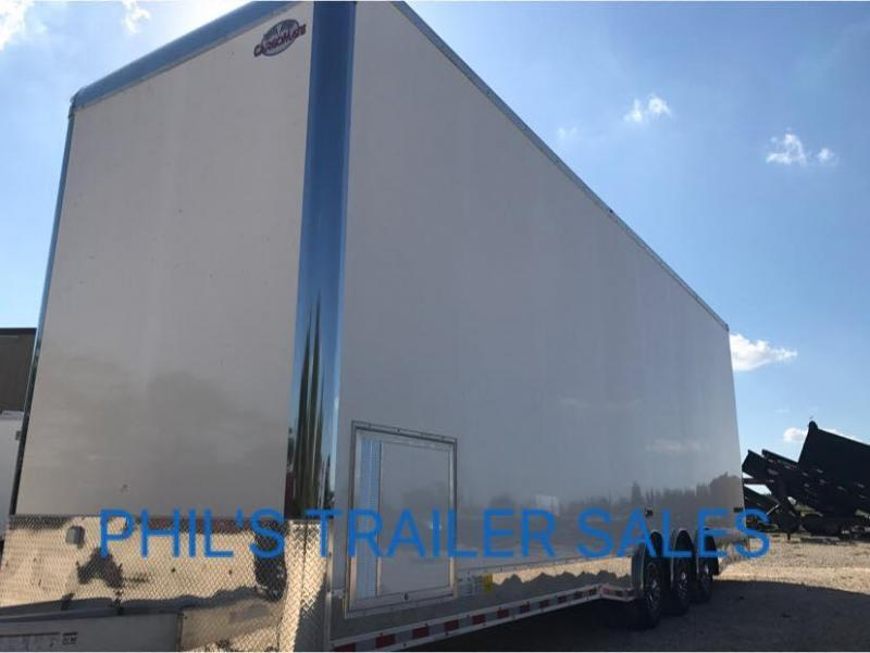 2018 Cargo Mate 32 STACKER  ALL ALUMINUM Car / Racing Trailer