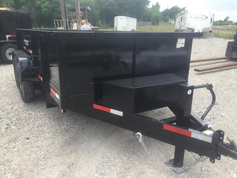 "Trailer 83x14 dump trailer 8 k axles 30"" SIDES RAMPS"