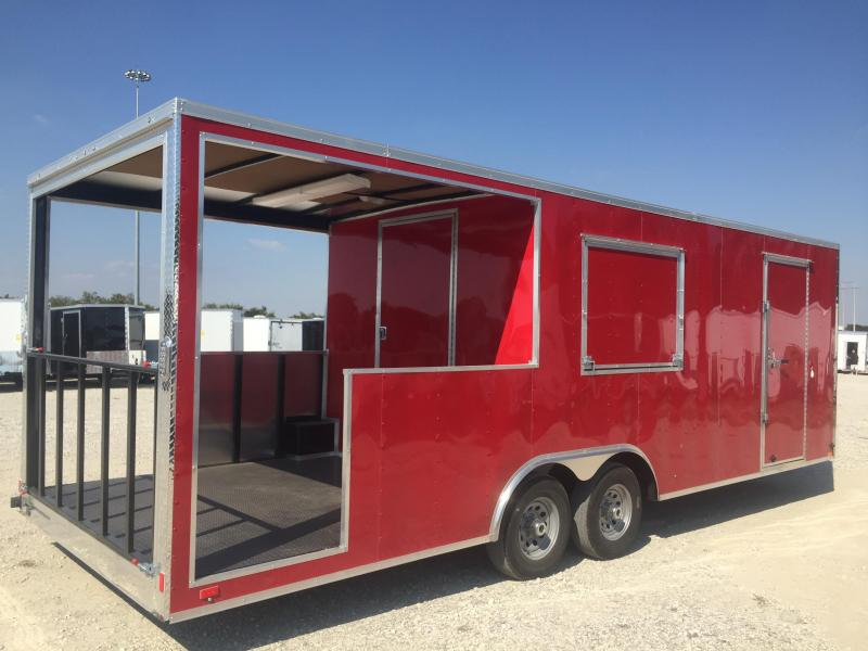 2017 8.5x24 Porch trailer Vending / Concession Trailer