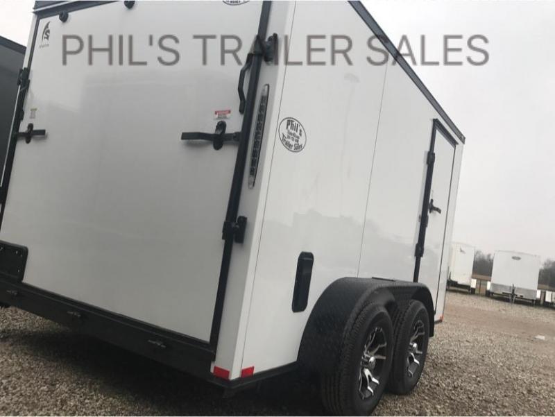 2018 Spartan 7x12  Screwless Cargo / Enclosed Trailer