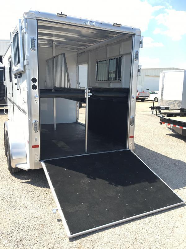 2018 Sundowner Trailers Charter SE R 2 Horse Trailer