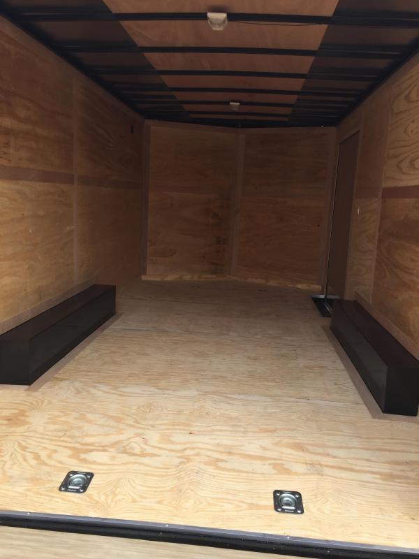 Continental Cargo  8 5 x 20 Enclosed trailer* BLACK